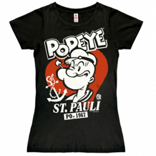 Popeye shirt dames