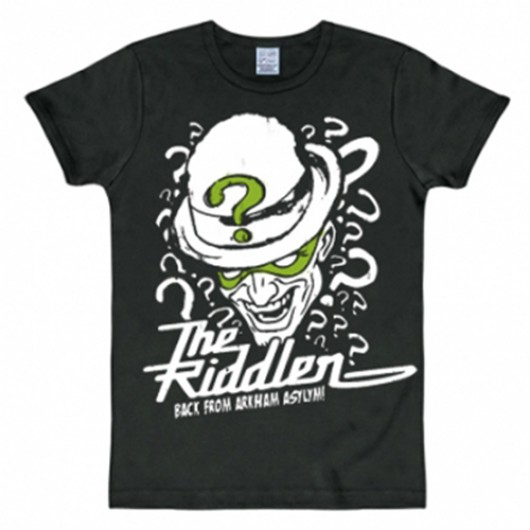 Batman The Riddler shirt heren slim fit
