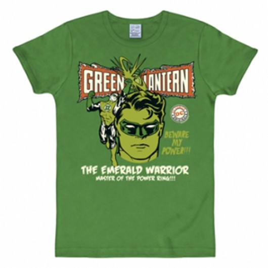 Green lantern shirt heren slim fit groen