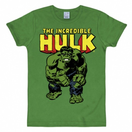 De hulk shirt heren slim fit groen