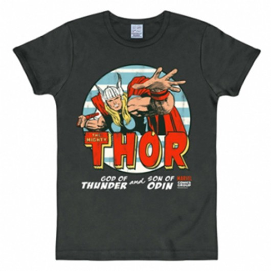 The Mighty Thor shirt heren slim fit
