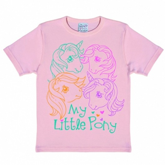 My little pony kinder shirt roze