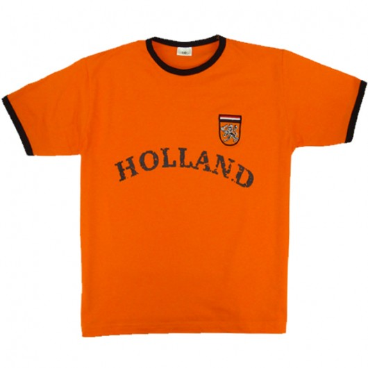 Holland Retro kinder t-shirt oranje