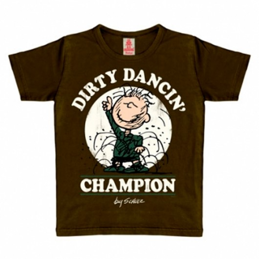 Peanuts dirty dancin' champion Logoshirt kinder t-shirt mustang