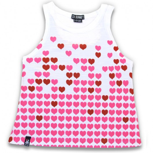 Rising hearts Six Bunnies kinder shirt