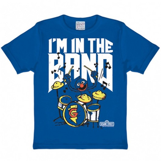 Sesamstraat Im in the band kinder shirt