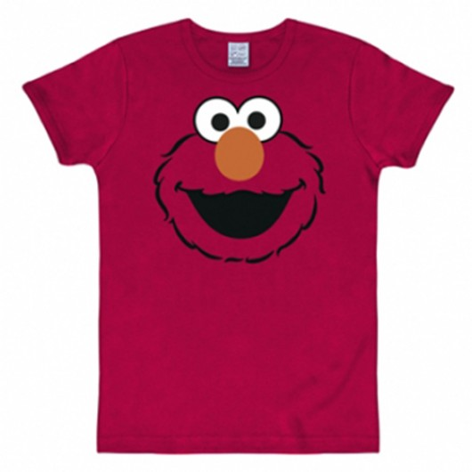 Sesamstraat Elmo shirt heren slim fit