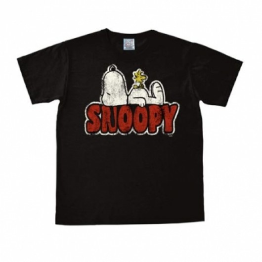 Snoopy Woodstock shirt heren