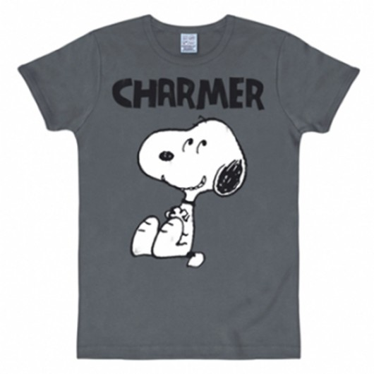 Snoopy charmer shirt heren slim fit