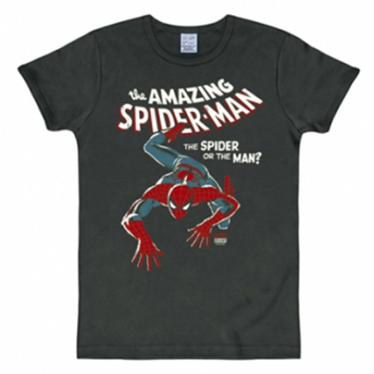 Spiderman shirt heren slim fit