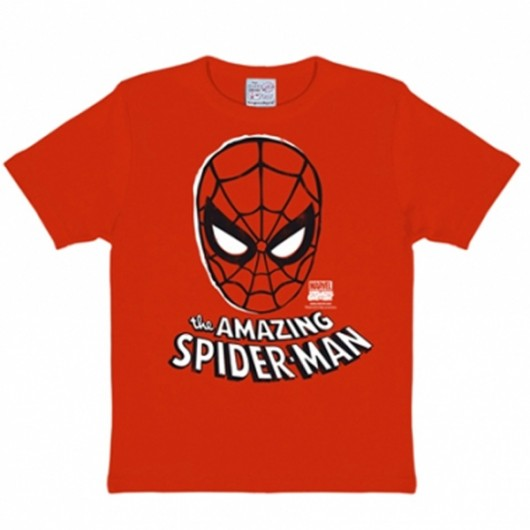 Spiderman Mask Marvel Comics Logoshirt kinder t-shirt