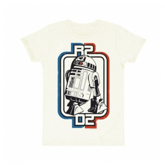 Star Wars R2-D2 logo shirt heren slim fit
