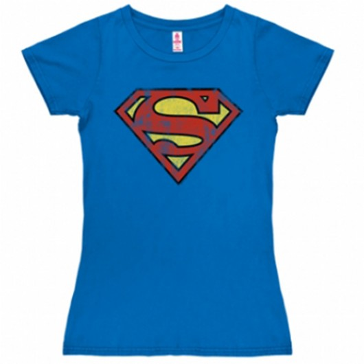 Superman shirt dames
