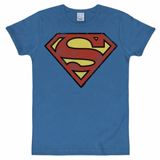 Superman shirt heren slim fit