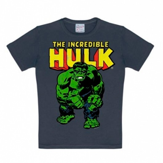 The Incredible Hulk kinder t-shirt medium blauw