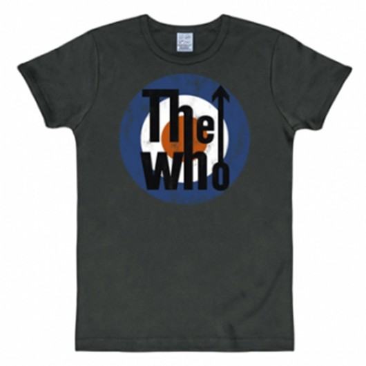 The Who shirt heren slim fit zwart