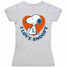 Snoopy I Love Snoopy shirt dames