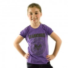 Ramones Seal Logo Amplified baby girl t-shirt paars