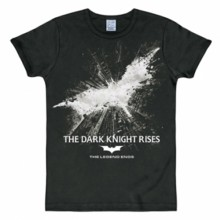 Batman The Dark Knight Rises shirt heren slim fit
