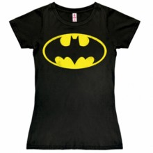 Batman logo shirt dames