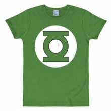 Green lantern logo shirt heren slim fit