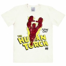 Human Torch shirt heren easy fit