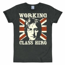John Lennon shirt heren slim fit