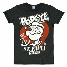 Popeye St. Pauli shirt heren slim fit