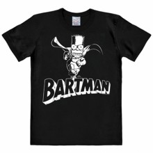 Simpsons Bartman shirt heren slim fit