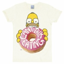 Simpsons Homer donut shirt heren slim fit