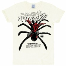 Spiderman superhero shirt heren slim fit