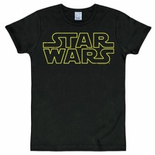 Star Wars logo shirt heren slim fit