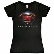 Superman men of steel shirt dames