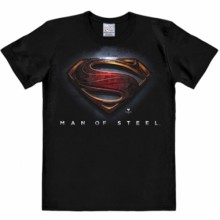 Superman man of steel shirt heren easy fit