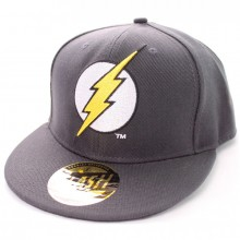 The Flash logo pet grijs